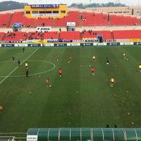 Photo taken at Gwangyang Football Stadium by WS L. on 4/1/2017