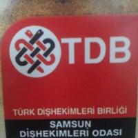 Photo taken at Türk Diş Hekimleri Birliği Samsun Odası by Can T. on 4/26/2013