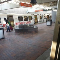 Photo taken at MARTA - Airport Station by Cleveland G. on 6/4/2013