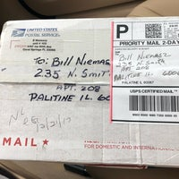 Photo taken at US Post Office by Bill N. on 12/22/2017
