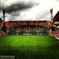 Photo taken at Stadio Nereo Rocco by Lorenzo M. on 11/1/2012