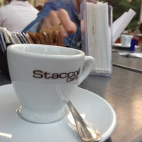 Foto scattata a Staccoli Caffè da Francesco B. il 10/24/2012
