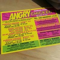 Das Foto wurde bei Angry Chicken von Jia O. am 6/5/2014 aufgenommen