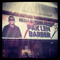 Photo taken at Kedai Gunting Rambut by Zamri Z. on 3/28/2014