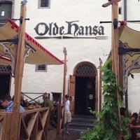 Photo taken at Olde Hansa by Alexey V. on 7/10/2013