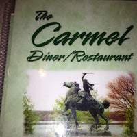 Photo taken at Carmel Diner by Melissa M. on 12/8/2012