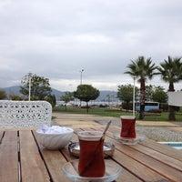 Photo taken at Tropikal Cafe & Nargile by NazikÇagla E. on 10/25/2012