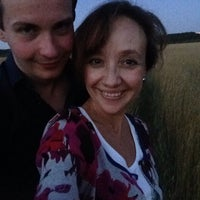 Photo taken at Пооооле :D by Света Б. on 7/26/2014