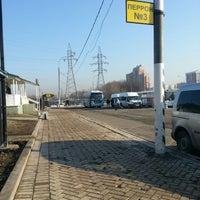 Снимок сделан в Автостанция «Орехово» пользователем Катечка ♥. 4/17/2013