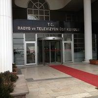 Photo taken at Radyo ve Televizyon Üst Kurulu by Erdem ç. on 1/16/2013