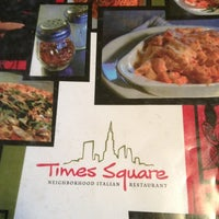 Photo taken at Times Square Neighborhood Italian Restaurant by Edward P. on 2/28/2013