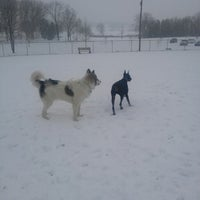 Photo taken at Overlook Dog Park by People of Lancaster e. on 1/21/2014