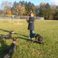 Photo taken at Overlook Dog Park by People of Lancaster e. on 11/3/2013