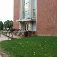 Photo taken at Davis Hall (IUP) by Courtnee J. on 10/7/2013