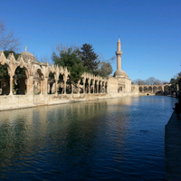 Photo taken at Balıklı Göl by semih y. on 3/6/2013