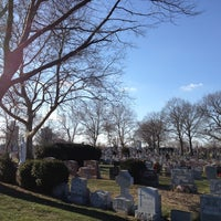 Photo taken at Mount St. Mary Cemetery by Tommy S. on 1/5/2013