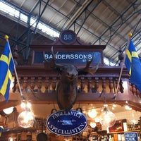 Photo taken at Östermalms Saluhall by Viktoria O. on 4/8/2013