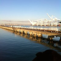 Photo taken at San Francisco Bay Ferry - Alameda Main Street Terminal by Jennifer D. on 10/8/2012