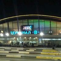 Photo taken at Terminal B (KBP) by Артем К. on 11/23/2012