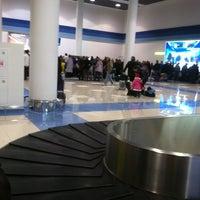 Photo taken at Выдача багажа / Baggage Claim by Elena K. on 10/27/2012