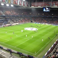 Photo taken at Amsterdam ArenA by Brian M. on 10/24/2012
