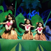 Photo taken at it's a small world by Sean A. on 7/15/2013