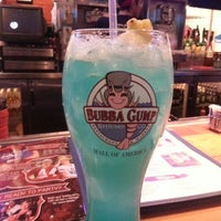 Photo taken at Bubba Gump Shrimp Co. by Andrea L. on 12/30/2012