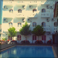 Photo taken at Pela Maria Hotel by Katerina S. on 7/23/2013