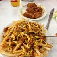 Photo taken at American Coney Island by James M. on 11/10/2012
