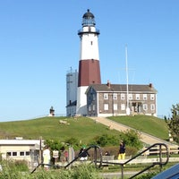 Photo taken at Montauk Point Lighthouse by Neshe A. on 5/27/2013