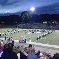 Photo taken at Bear stadium by Chris F. on 10/18/2013