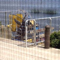 Photo taken at Monroe Harbour Marina by Justin W. on 7/19/2014