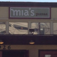 Photo taken at Mia's Pizzas by George A. on 4/10/2013