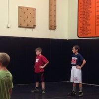 Photo taken at Huntington Beach City Gym by Tito O. on 12/27/2013