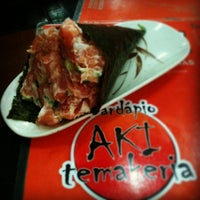 Photo taken at Aki Temakeria by Renatinha . on 12/20/2012