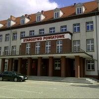Photo taken at Starostwo Powiatowe w Pile by Przemek G. on 4/25/2013
