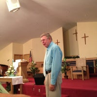 Photo taken at Piedmont Baptist Church by Brian K. on 6/23/2013