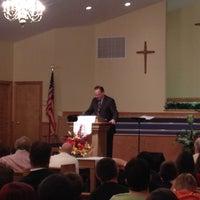 Photo taken at Piedmont Baptist Church by Brian K. on 10/22/2013