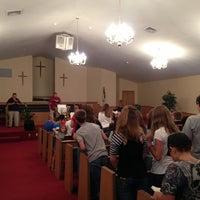 Photo taken at Piedmont Baptist Church by Brian K. on 7/30/2013