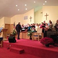 Photo taken at Piedmont Baptist Church by Brian K. on 10/25/2012