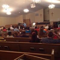 Photo taken at Piedmont Baptist Church by Brian K. on 6/1/2014