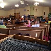 Photo taken at Piedmont Baptist Church by Brian K. on 11/2/2014