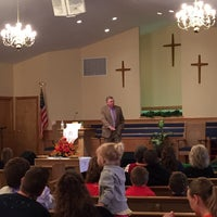 Photo taken at Piedmont Baptist Church by Brian K. on 3/22/2015