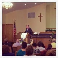 Photo taken at Piedmont Baptist Church by Brian K. on 5/11/2014