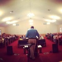 Photo taken at Piedmont Baptist Church by Brian K. on 10/31/2013