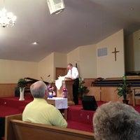 Photo taken at Piedmont Baptist Church by Brian K. on 5/26/2013