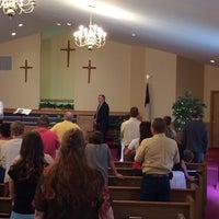Photo taken at Piedmont Baptist Church by Brian K. on 6/8/2014