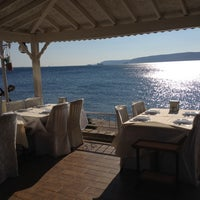 Photo taken at Marina Restaurant Cafe & Bar by Esra Ü. on 8/13/2014