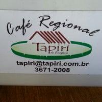 Photo taken at Café Regional Tapiri da Amazônia by André M. on 6/30/2013