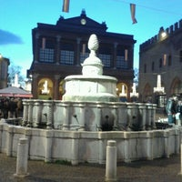 Photo taken at Fontana della Pigna by Valentina F. on 1/1/2013
